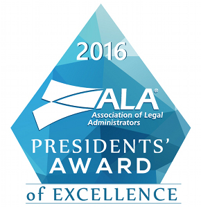 2016 Presidents' Award of Excellence
